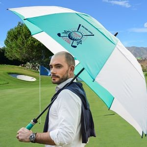 The Typhoon Tamer Vented Golf Umbrella