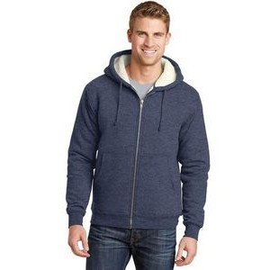 Cornerstone� Heavyweight Sherpa-Lined Hooded Fleece Jacket