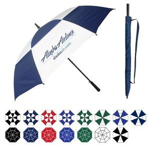 "Oversized Golf Umbrella w/ Rubberized Handle (64"" Arc)"