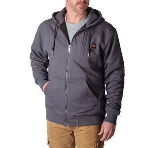 Walls� Men's 3LB Heavyweight Full Zip DWR Fleece Hoodie